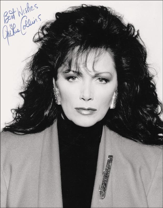Image 1 for Jackie (Jacqueline Jill) Collins - Autographed Signed Photograph - HFSID 176819