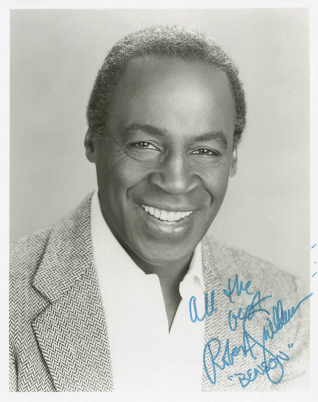 Image 1 for Robert Guillaume - Autographed Signed Photograph - HFSID 176868