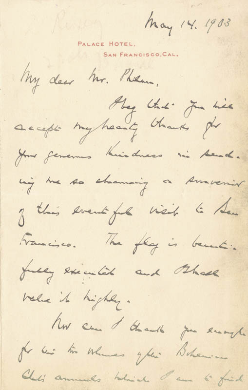 Image 3 for Nicholas Murray Butler - Autograph Letter Signed 05/14/1903 - HFSID 17741