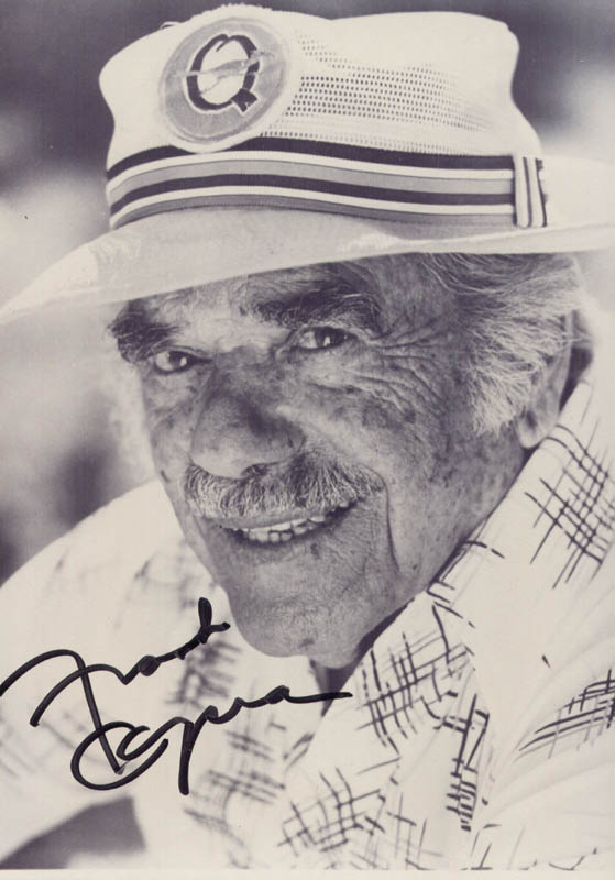 Image 1 for Frank Capra - Autographed Signed Photograph - HFSID 177518