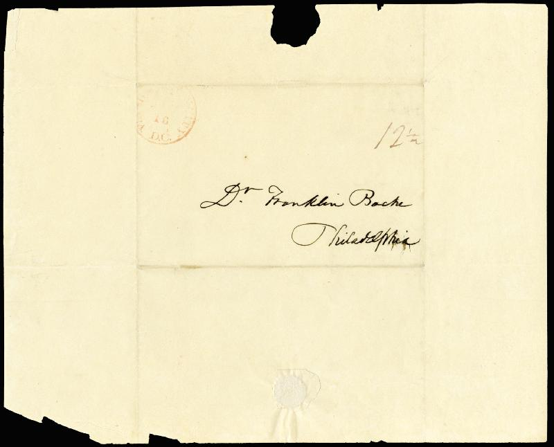 Image 4 for Francis Scott Key - Autograph Letter Signed 01/18/1838 - HFSID 177623