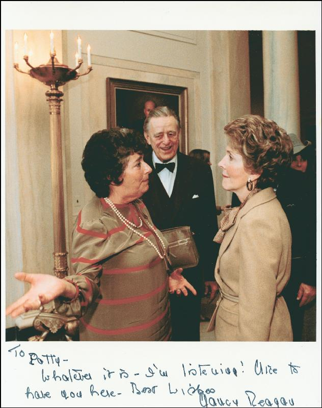 Image 1 for First Lady Nancy Davis Reagan - Autographed Inscribed Photograph - HFSID 178825