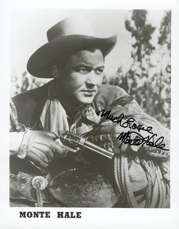 Image 1 for Monte Hale - Autographed Signed Photograph - HFSID 178941