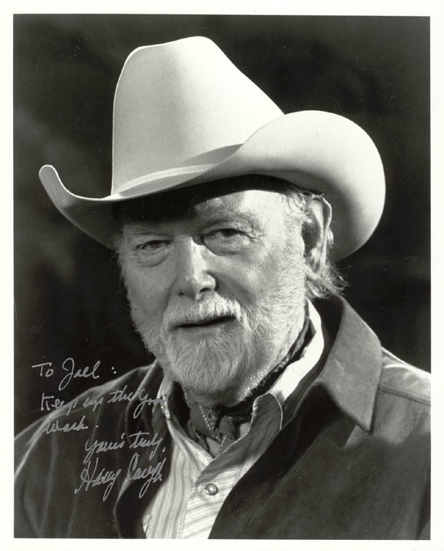 Image 1 for Harry Carey Jr. - Autographed Inscribed Photograph - HFSID 178972