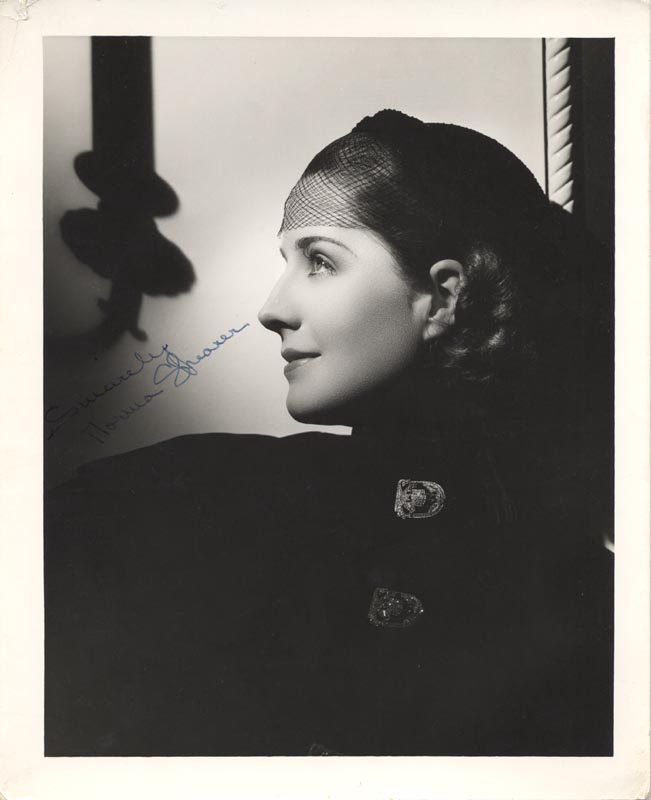 Image 1 for Norma Shearer - Autographed Signed Photograph - HFSID 179319