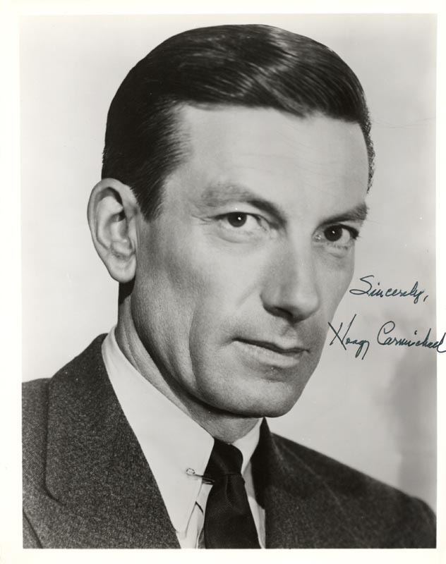 Image 1 for Hoagy Carmichael - Autographed Signed Photograph - HFSID 179817