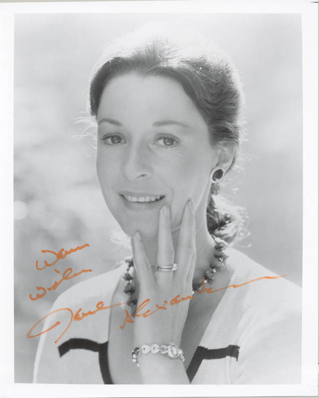 Image 1 for Jane Alexander - Autographed Signed Photograph - HFSID 179826