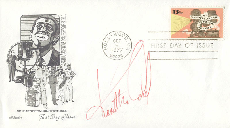 Image 1 for Kent Mccord - First Day Cover Signed - HFSID 180038