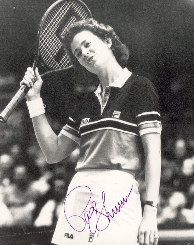 Image 1 for Pam Shriver - Autographed Signed Photograph - HFSID 180098