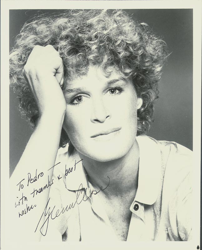 Image 1 for Glenn Close - Autographed Inscribed Photograph - HFSID 180197