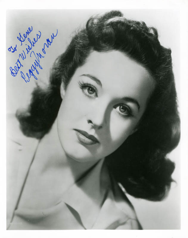 Image 1 for Peggy Moran - Autographed Inscribed Photograph - HFSID 180201