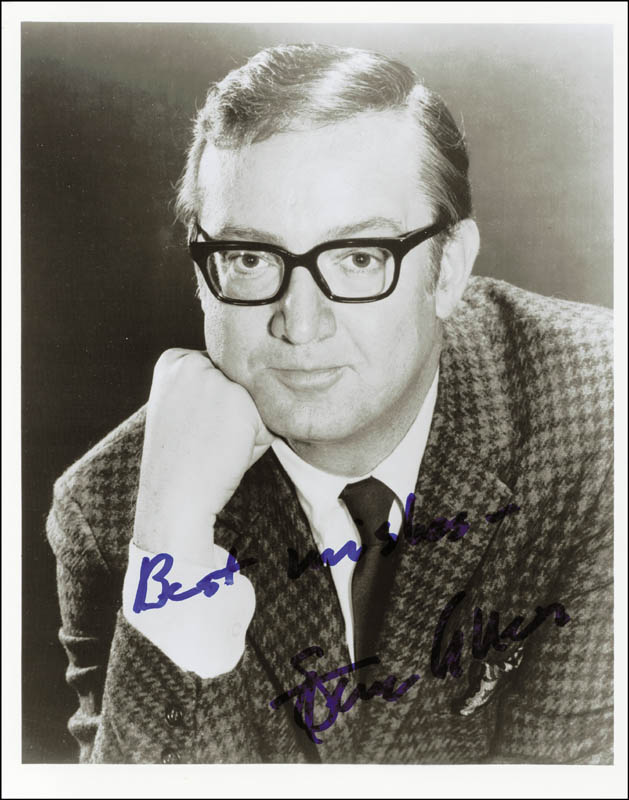 Image 1 for Steve Allen - Autographed Signed Photograph - HFSID 180256
