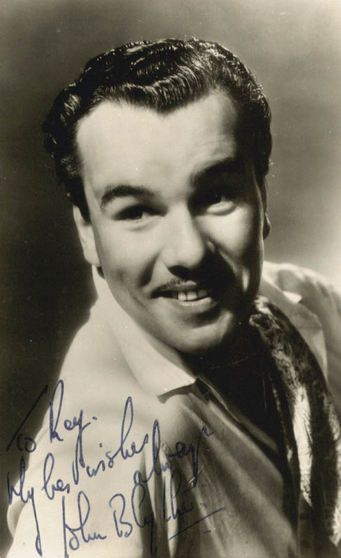 Image 1 for John Blythe - Autographed Signed Photograph - HFSID 180413