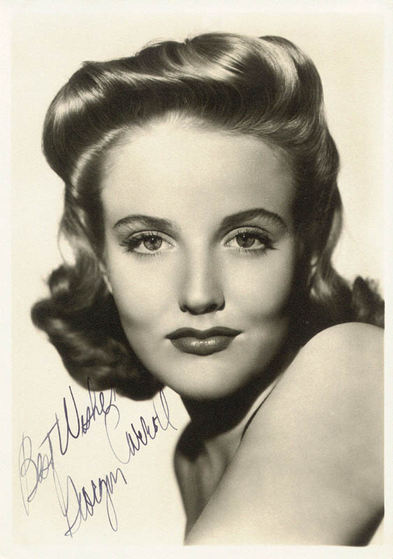 Image 1 for Georgia Carroll - Autographed Signed Photograph - HFSID 180422