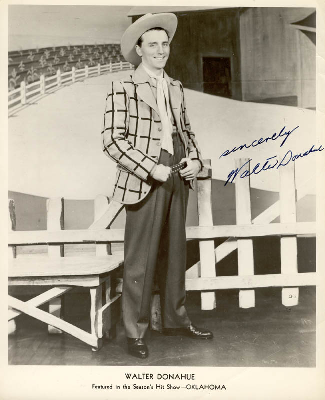 Image 1 for Walter Donahue - Autographed Signed Photograph - HFSID 180480