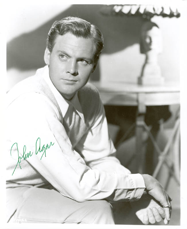 Image 1 for John Agar - Autographed Signed Photograph - HFSID 180568