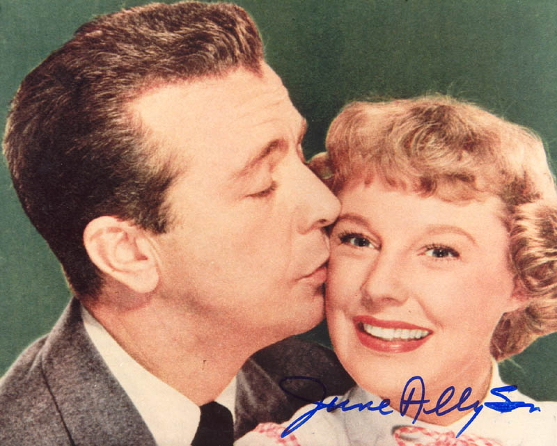 Image 1 for June Allyson - Autographed Signed Photograph - HFSID 180594
