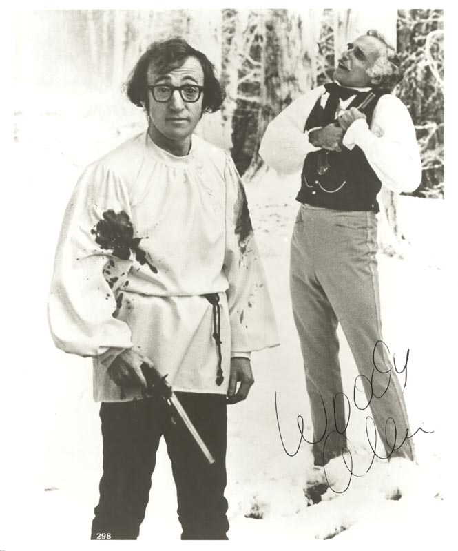Image 1 for Woody Allen - Autographed Signed Photograph - HFSID 180649