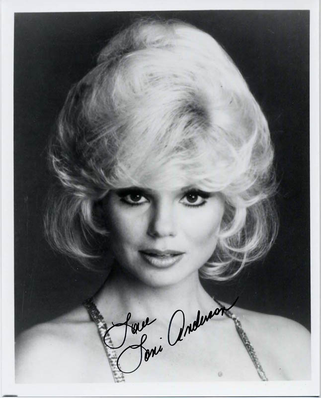 Image 1 for Loni Anderson - Autographed Signed Photograph - HFSID 180668