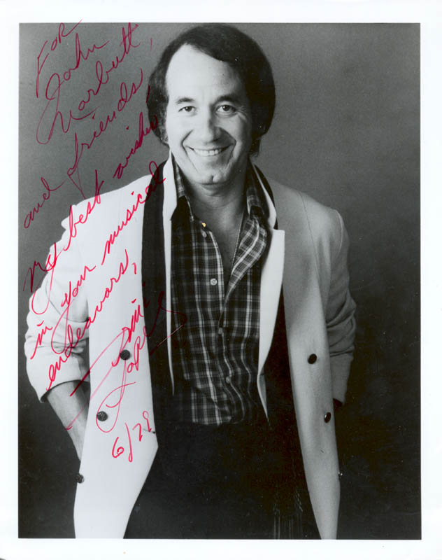 Image 1 for Trini Lopez - Autographed Inscribed Photograph 06/1979 - HFSID 180696