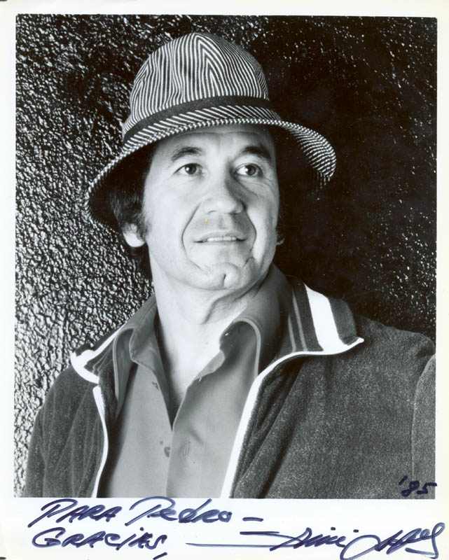 Image 1 for Trini Lopez - Autographed Inscribed Photograph 1985 - HFSID 180697