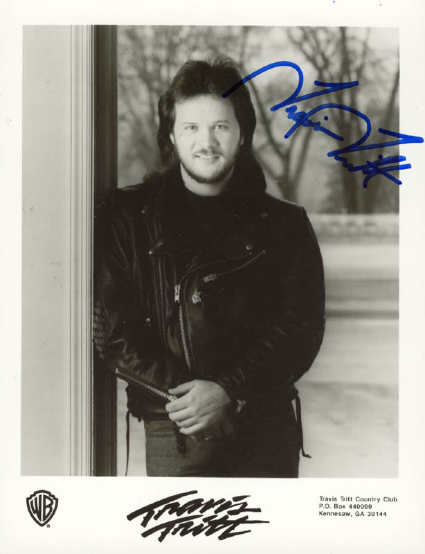 Image 1 for Travis Tritt - Autographed Signed Photograph - HFSID 180749