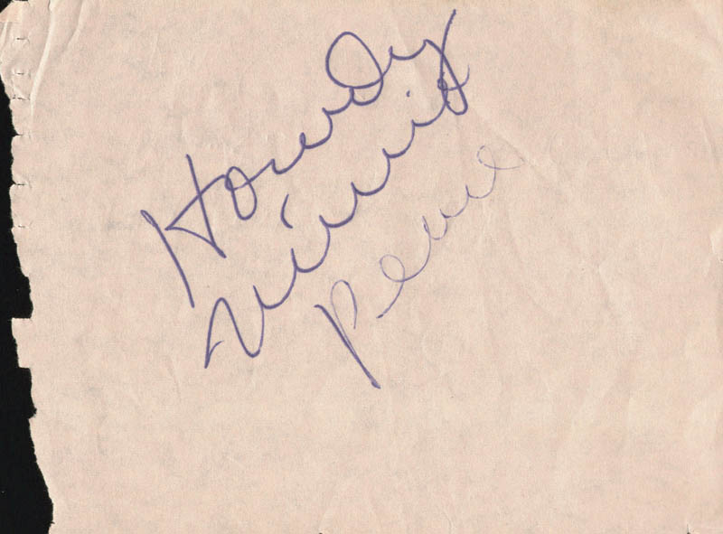 Image 1 for Minnie Pearl - Autograph Sentiment Signed - HFSID 180762
