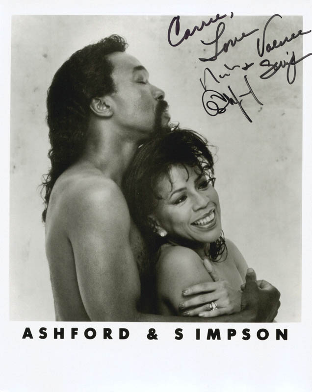 Image 1 for Ashford & Simpson - Autographed Inscribed Photograph co-signed by: Ashford & Simpson (Nickolas Ashford), Ashford & Simpson (Valerie Simpson) - HFSID 180793