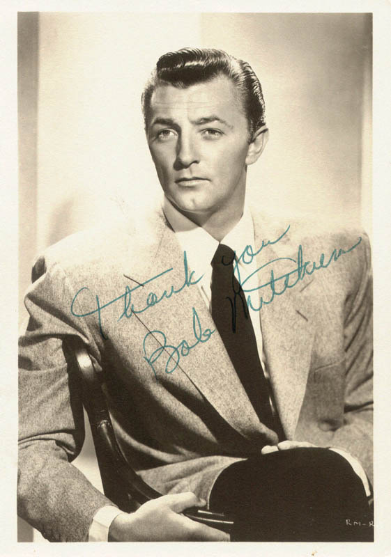 Image 1 for Robert Mitchum - Autographed Signed Photograph - HFSID 180892