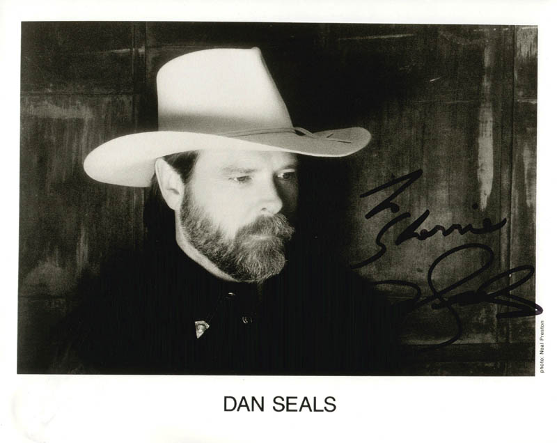 Image 1 for Dan Seals - Autographed Inscribed Photograph - HFSID 180943