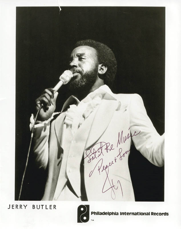 Image 1 for Jerry 'Iceman' Butler - Autographed Signed Photograph - HFSID 180991