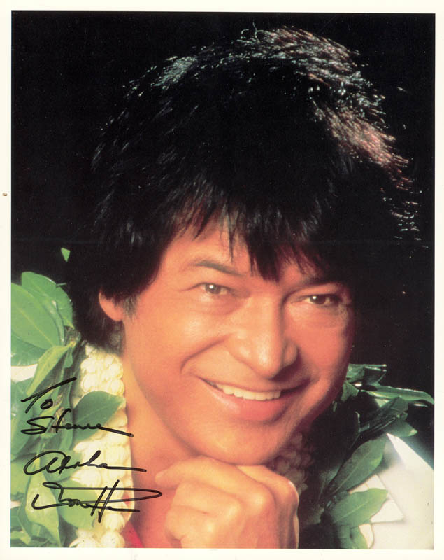 Image 1 for Don Ho - Autographed Inscribed Photograph - HFSID 181129