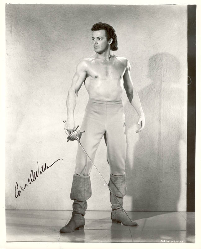 Image 1 for Cornel Wilde - Autographed Signed Photograph - HFSID 181228