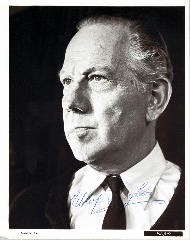 Image 1 for Melvyn Douglas - Autographed Signed Photograph - HFSID 181323