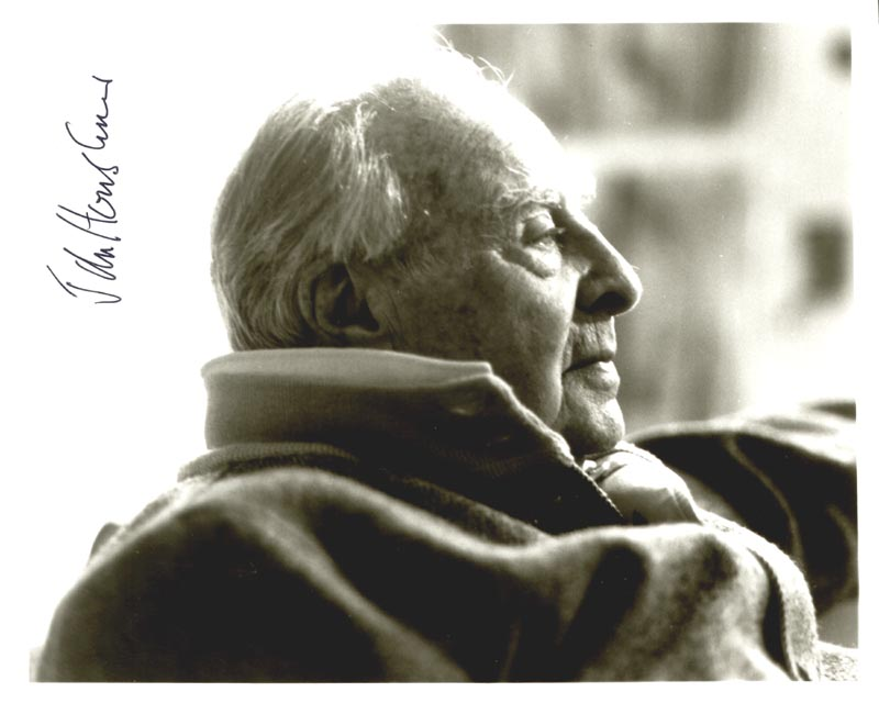 Image 1 for John Houseman - Autographed Signed Photograph - HFSID 181334