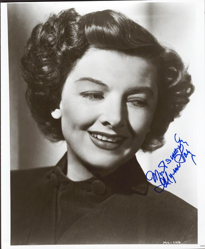 Image 1 for Myrna Loy - Autographed Signed Photograph - HFSID 181490
