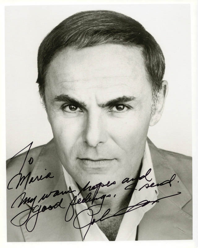 Image 1 for John Saxon - Autographed Inscribed Photograph - HFSID 181519