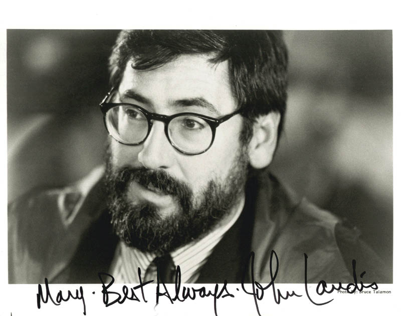 Image 1 for John Landis - Autographed Inscribed Photograph - HFSID 181530