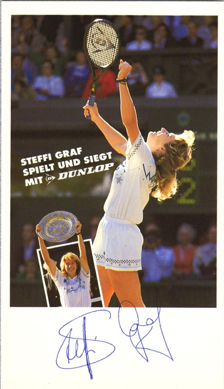 Image 1 for Steffi Graf - Autographed Signed Photograph - HFSID 181672