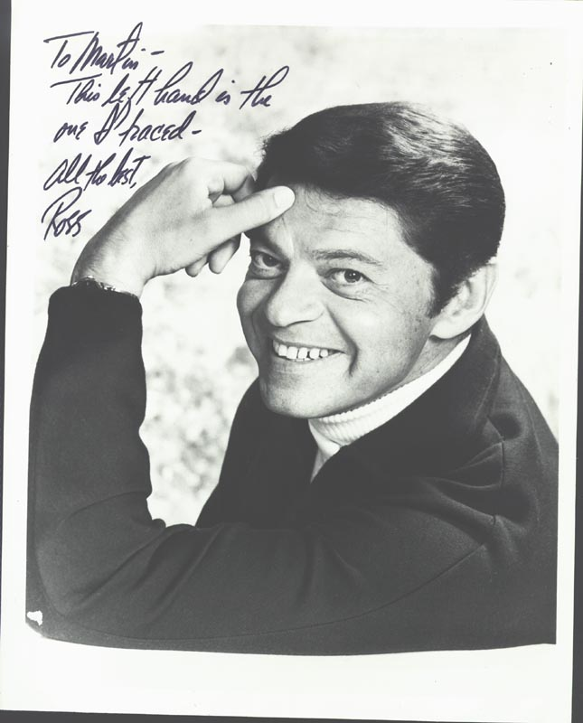Image 1 for Ross Martin - Autographed Inscribed Photograph - HFSID 181754