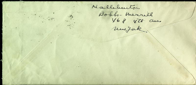 Image 1 for Richard Halliburton - Autograph Envelope Signed - HFSID 182710