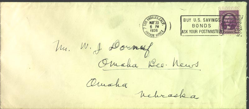 Image 3 for Richard Halliburton - Autograph Envelope Signed - HFSID 182710