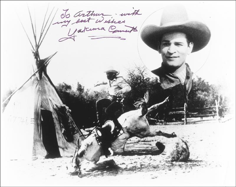 Image 1 for Yakima Canutt - Autographed Inscribed Photograph - HFSID 182816
