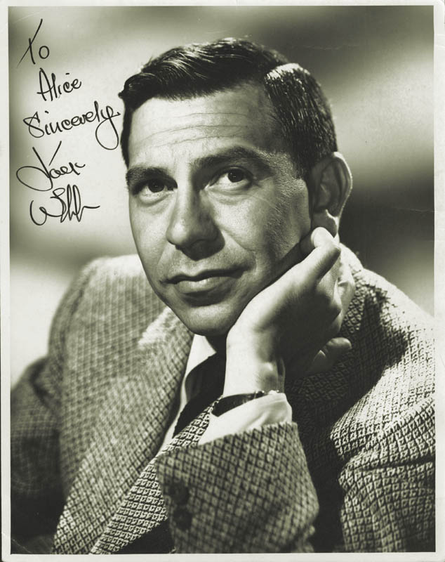 Image 1 for Jack Webb - Autographed Inscribed Photograph - HFSID 182843