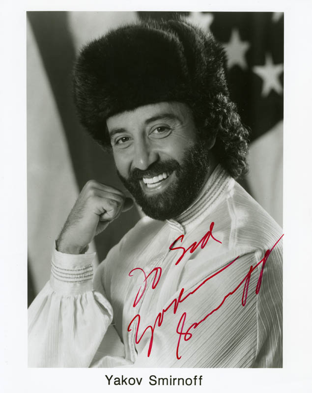 Image 1 for Yakov Smirnoff - Inscribed Printed Photograph Signed In Ink - HFSID 182891