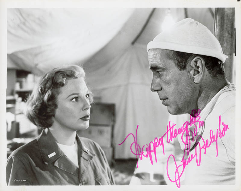 Image 1 for June Allyson - Autographed Signed Photograph - HFSID 182926