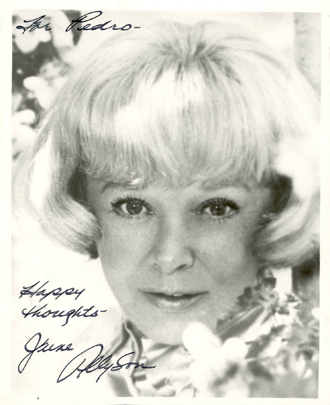 Image 1 for June Allyson - Autographed Inscribed Photograph - HFSID 182927