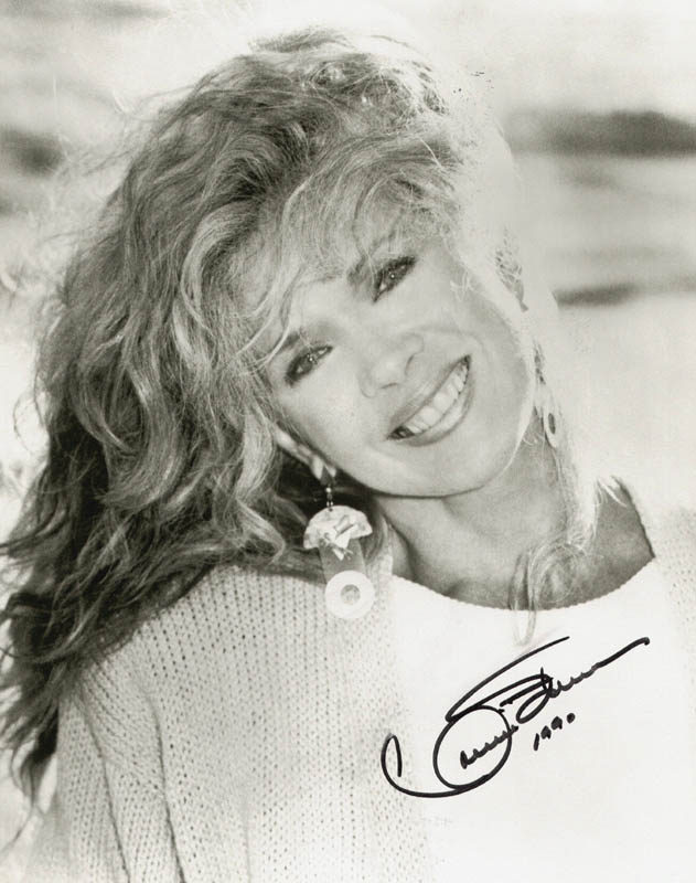 Image 1 for Connie Stevens - Autographed Signed Photograph 1990 - HFSID 183305