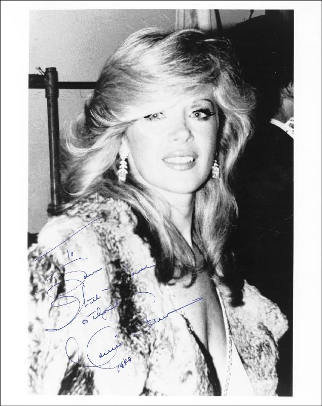 Image 1 for Connie Stevens - Autographed Inscribed Photograph 1989 - HFSID 183671