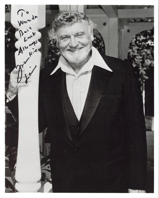 Image 1 for Frankie Laine - Autographed Inscribed Photograph - HFSID 183745